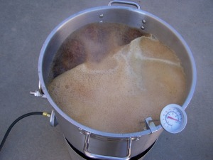 Almost a boil over