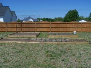 Original Garden Setup 2010