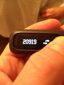 +20000 steps!?! Woot!
