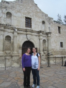 Exploring the Alamo, which is much smaller than you would think