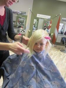 First Haircut 2